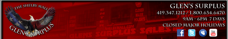 Glen's Surplus